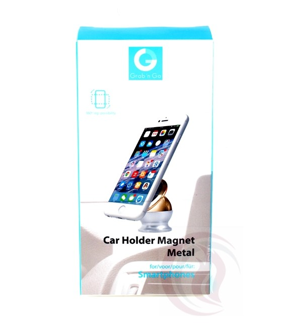 Grab 'n Go - Car Holder Magnet - Metal