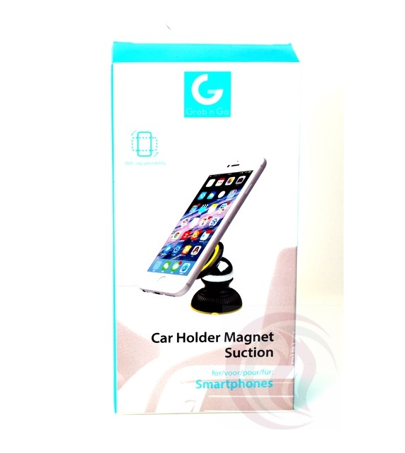 Grab 'n Go - Car Holder Magnet - Suction
