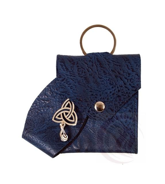 Keychain - Triquerta - Blue
