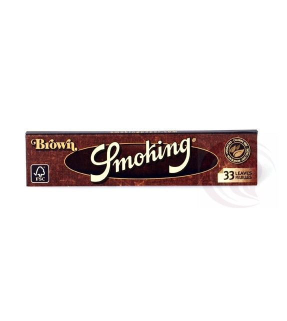 SMOKING -BROWN -ΚΑΦΕ - KING SIZE