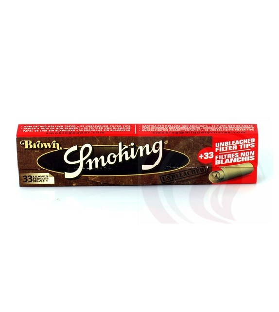 Smoking - Brown - Καφέ - King Size+Tips