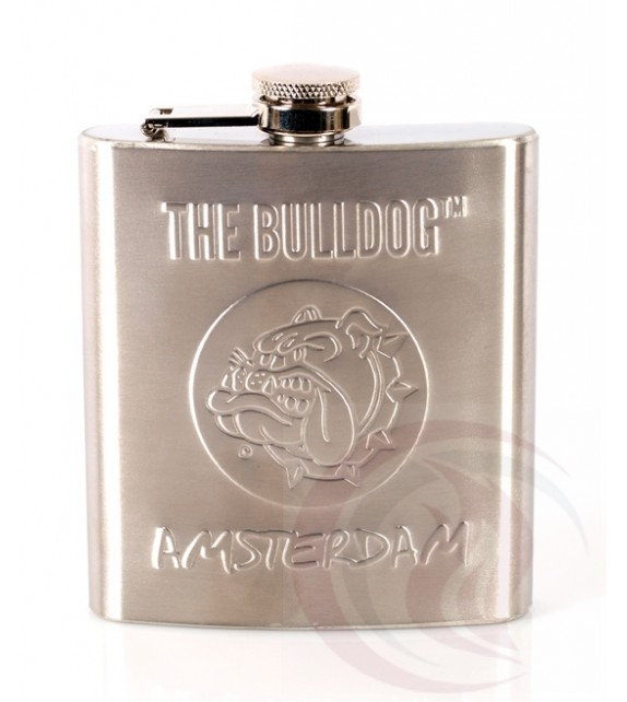 The Bulldog - Hip Flask