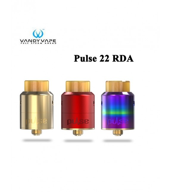 Vandyvape - Multi-color Pulse 22 BF-RDA Atomizer