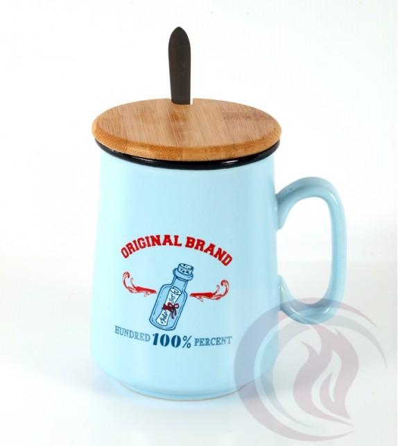 Κούπα με Ξύλινο Καπάκι - Original Brand