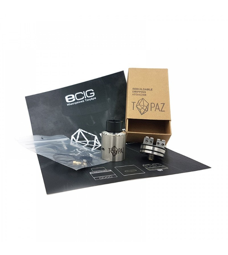 0bd48f6578 TOPAZ Rebuildable Dripping Atomizer Parts Θεραπεύει