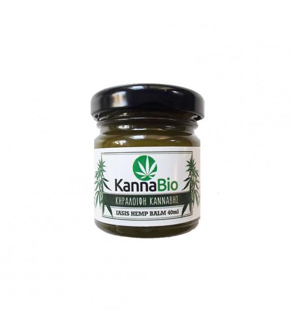 KannaBio - Κηραλοιφή Κάνναβης - Iasis