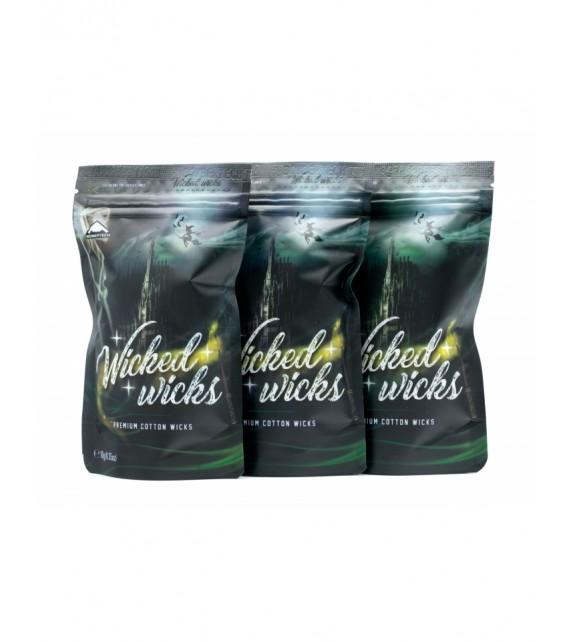 BomberTech Wicked Wicks Premium Cotton Wicks