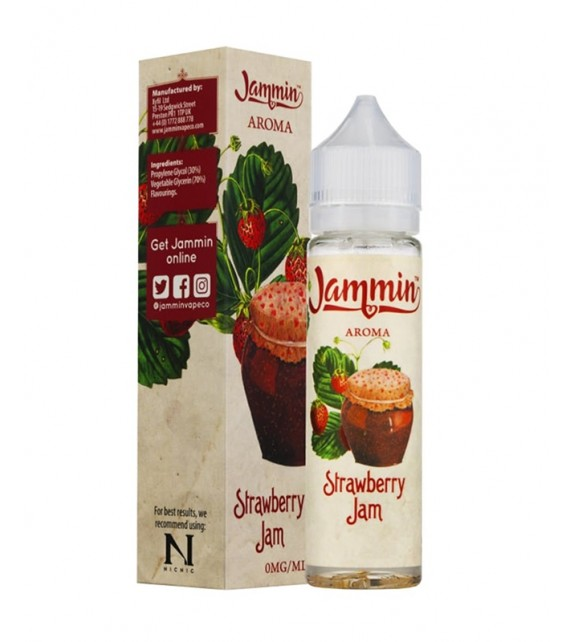 Jammin - Strawberry Jam - Mix & Vape