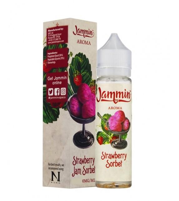 Jammin - Strawberry Jam Sorbet - Mix & Vape