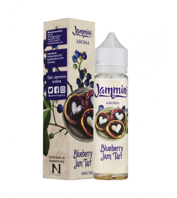 Jammin - Blueberry Jam Tart  - Mix & Vape