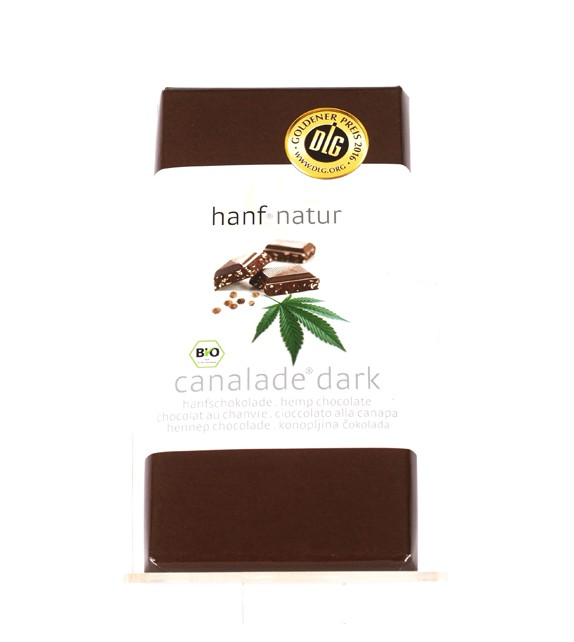 Cannabis Dark Bio Chocolate